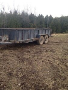 2013 16 foot winch trailer 8 Ton
