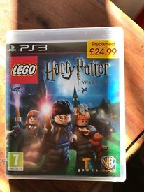 PS3 Harry Potter Years 1-4.