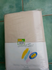 Bedding sheet set double bed size