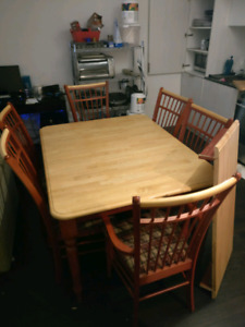 Table and chair set for sale - $50 or best offer