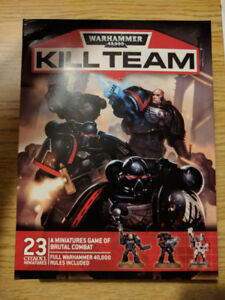 Warhammer 40k Kill Team Starter (New in box, box opened, unused)