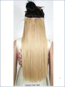 """CLIP IN ON HAIR EXTENSION CLIP,24"""", 60 CM,STRAIGH,Like REAL HAIR Yellowknife Northwest Territories image 4"""