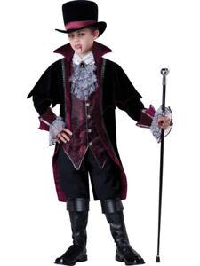 NEW Incharacter Vampire of Versailles Deluxe boy Costume size 6
