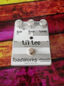 Toadworks Lil Leo OD pedal