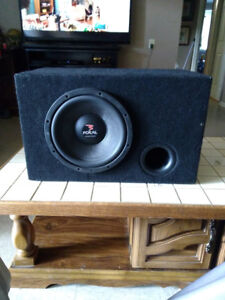Focal sub and box for sale