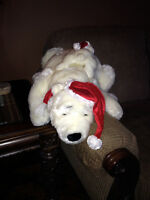 Coca Cola Bear with Baby Approx. 2 1/2 Feet long