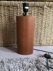Habitat solid wood lamp base