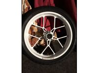 Carrozzeria forged aluminium wheels for SV1000