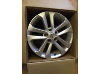 """Nissan Juke 17"""" alloy wheels"""