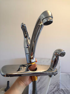 Moen Kitchen Faucet with Side Spray