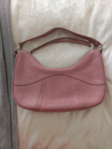 Tod S Genuine Leather Pink Handbag