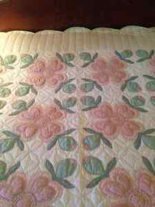 Quilts outstanding quality all hand stiched
