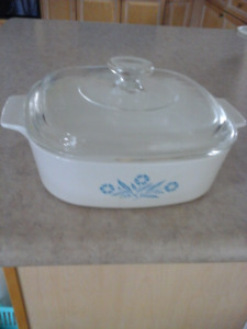 Corning ware Blue corn flower $20 and $25