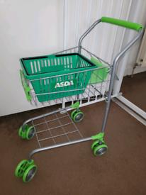 Asda trolly and basket