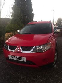 Mitsubishi Outlander, Mk2, 2.0 D-ID Warrior, 5 door