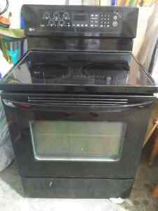LG Glass top 5 burner stove