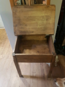 Vintage childrens school desk for sale