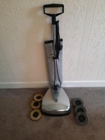 Karcher floor polisher/vacuum. Retro silver