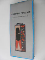 60 PC CRIMPING TOOL KIT - NEVER USED