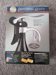 Lightning Lever Corkscrew - BRAND NEW!!!