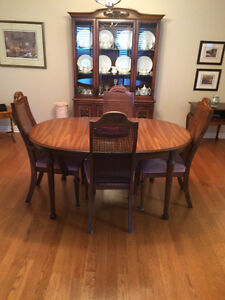 Complete Dining Set + China Cabinet for SALE