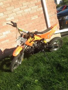 VERY Lightly used dirt bike!
