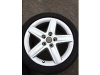VAG AUDI WHEELS AND TYRES