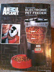 New electronic pet feeder