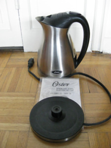 Kettle.  Jug.  Electric.  Oster 5964/5965. $20.