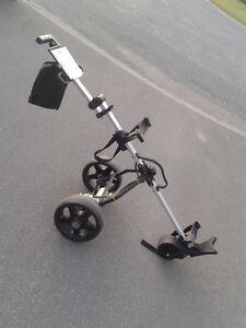 "$50 Electric Golf Push Cart - ""PowerTrolley"""