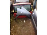 Vauxhall zafira drivers side wing