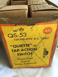 TAP ACTION QS53 3WAY LIGHT SWITCH Peterborough Peterborough Area image 1
