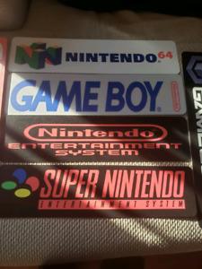 Nintendo Signs