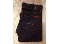 7 FOR ALL MANKIND JEANS 32