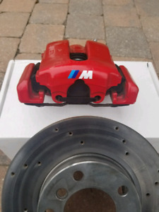 BMW E36 Front Calipers and Rotors