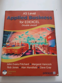 AS Level Applied Business for EDEXCEL Double award for sale  Edgware, London