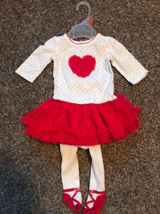 Baby girl tutu outfit size 0-3M
