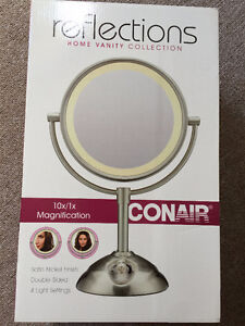 Conair Lighted Mirror - brand new in box