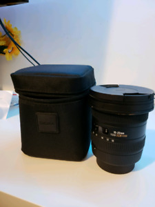 Sigma 10-20mm EX F3.5 wide lens $350 OBO