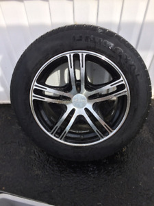 "15"" Custom Alloy Rims on Tires off 08 Cobalt"