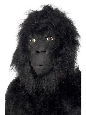 Gorillamaske Affen Gorilla King Kong Maske Kostüm - Gorilla Maske Kostüm