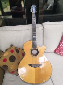 Cort sfx 6b electro acoustic guitar