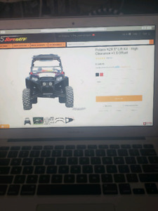 5 inch lift for rzr 800 specs in pic