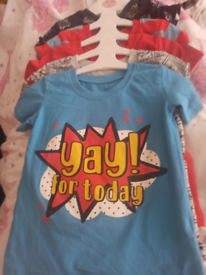 Boys t-shirts 5 pk brand new 12 to 18 months