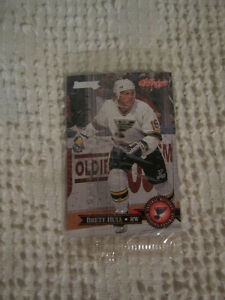 Brett Hull Kellogs Hockey Card / Carte de Hockey
