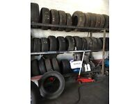 Part worn tyres mostly all sizes