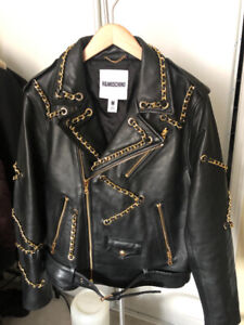 Moschino HM Leather Jacket