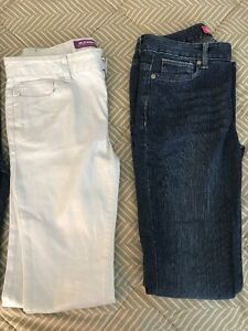 Brand Name Jeans 4 pairs size 14
