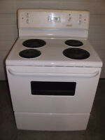 "Frigidaire 30"" electric stove"