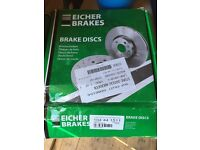 VW/Audi rear brake discs (Pair)